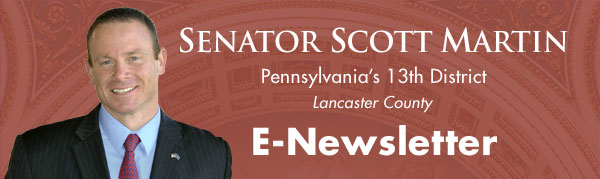 Senator Scott Martin E-Newsletter