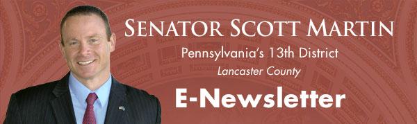 Senator Scott Martin E-Newsletter